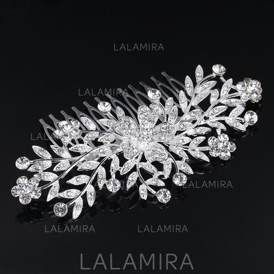"Combs & Barrettes Wedding/Special Occasion Rhinestone/Alloy 3.94""(Approx.10cm) 2.37""(Approx.6cm) Headpieces (042158790)"