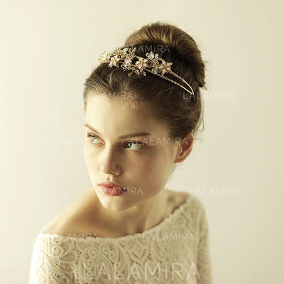 "Tiaras Wedding/Special Occasion/Party/Art photography Alloy 7.09""(Approx.18cm) 5.53""(Approx.14cm) Headpieces (042159346)"