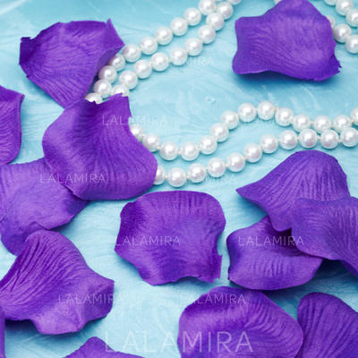 Decorations Free-Form Wedding Fabric Sold in Set of 5 Packs/ 100 Petals in Each Pack. Wedding Flowers (123188653)