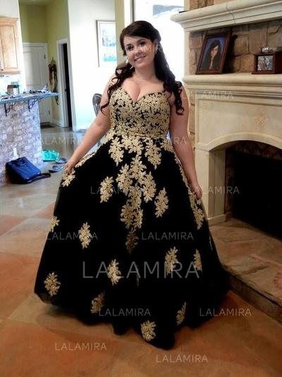 Luxurious Sleeveless Tulle Prom Dresses