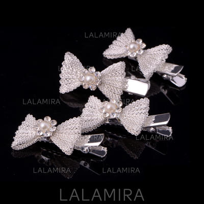"Combs & Barrettes Wedding/Special Occasion/Casual Alloy 1.69""(Approx.4.3cm) 0.78""(Approx.2cm) Headpieces (042155508)"