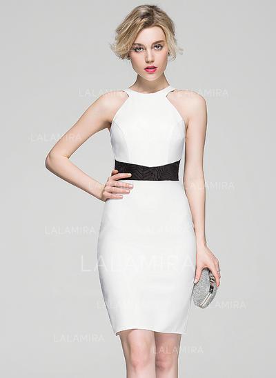 Novísimo Vestido tubo Escote redondo Jersey Baile de promoción (016081162)