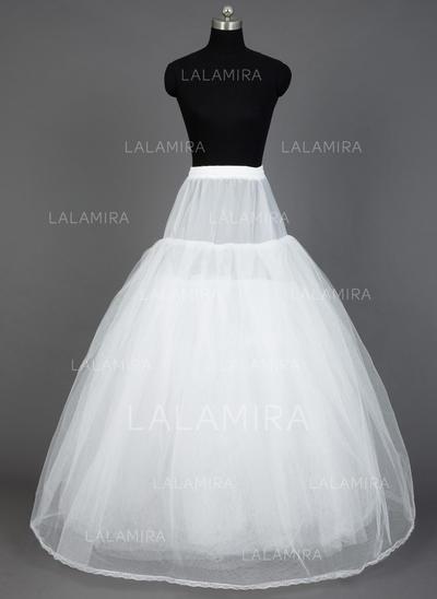 Petticoats Floor-length Nylon/Tulle Netting Ball Gown Slip 8 Tiers Petticoats (037190705)
