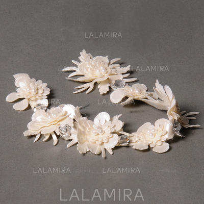 """Headbands Wedding/Special Occasion/Party Leatherette 5.91""""(Approx.15cm) 1.18""""(Approx.3cm) Headpieces (042154433)"""