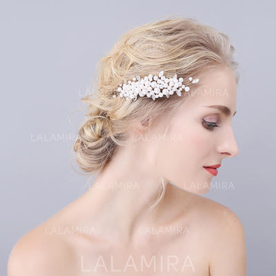 "Combs & Barrettes Wedding/Special Occasion Imitation Pearls 4.33""(Approx.11cm) 2.36""(Approx.6cm) Headpieces (042156983)"