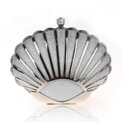 Elegante Acero inoxidable Bolso Claqué/Bolso de Mano/Bolsos de Moda/Maquillaje Bolsas (012141840)