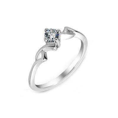 Rings Zircon/Platinum Plated Ladies' Unique Wedding & Party Jewelry (011164837)