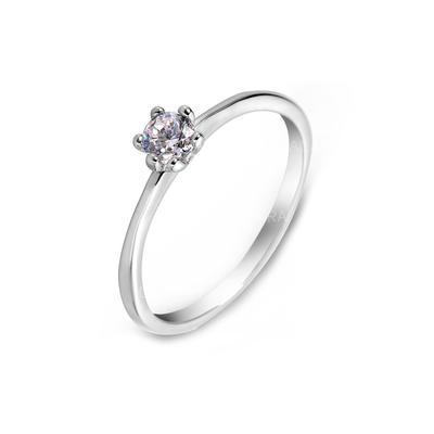 Rings Zircon/Platinum Plated Ladies' Elegant Wedding & Party Jewelry (011164833)