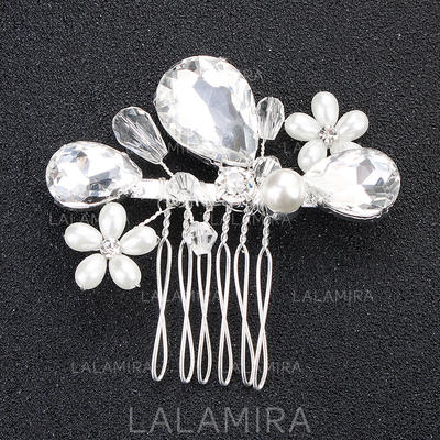 Combs & Barrettes Wedding/Party Rhinestone Glamourous Ladies Headpieces (042158501)