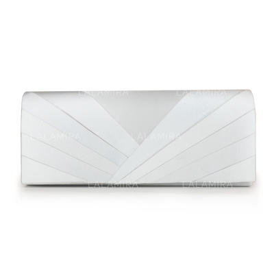 Clutches Wedding/Ceremony & Party Silk Magnetic Closure Charming Clutches & Evening Bags (012184810)