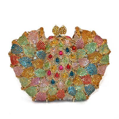Elegante lega Pochette/Portafogli & Accessori/Borsa da sposa/Moda Borse/Makeup Bags (012141276)