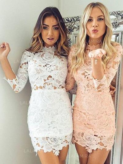Short/Mini Lace Homecoming Dresses
