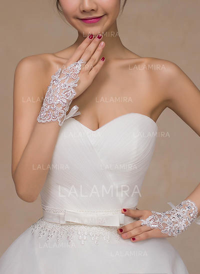 Lace Ladies' Gloves Bridal Gloves Fingerless 15cm(Approx.5.91inch) Gloves (014192127)