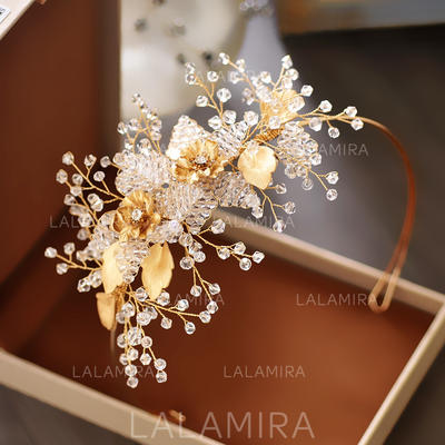"Tiaras/Combs & Barrettes Wedding/Special Occasion/Casual/Outdoor/Party/Carnival/Art photography Crystal/Rhinestone 1.97""(Approx.5cm) 3.15""(Approx.8cm) Headpieces (042159153)"