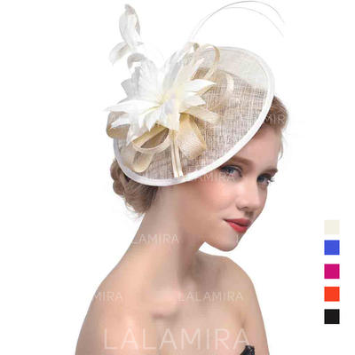 Cambric With Feather Fascinators Beautiful Ladies' Hats (196194666)