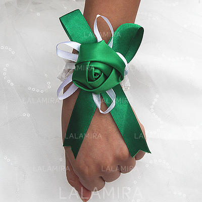 "Wrist Corsage Free-Form Wedding/Party Satin 1.97""(Approx.5cm) Wedding Flowers (123190132)"