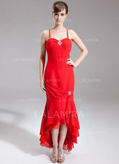 Trumpet/Mermaid Chiffon Magnificent Sweetheart Mother of the Bride Dresses (008210428)