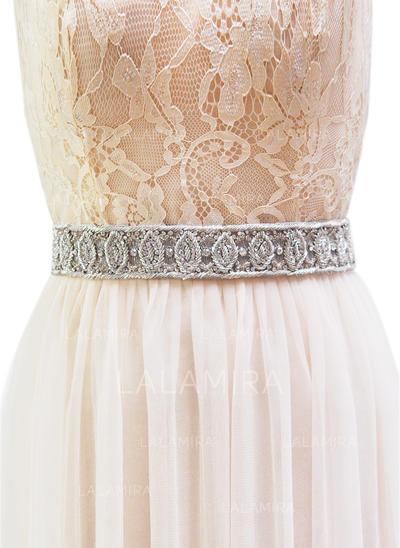 Moda Cintas Fajas con Diamantes de imitación (015097568)