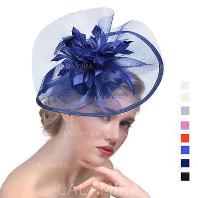 Cambric With Feather Fascinators Elegant Ladies' Hats (196194670)