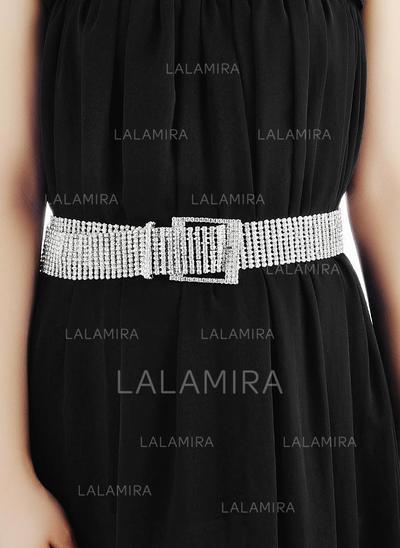 Women Alloy With Rhinestones Belt Fashional Sashes & Belts (015191377)