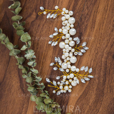 "Headbands Wedding Rhinestone/Imitation Pearls 9.45""(Approx.24cm) 3.15""(Approx.8cm) Headpieces (042158460)"