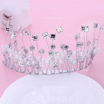 "Tiaras Wedding/Special Occasion/Party Rhinestone 5.91""(Approx.15cm) 2.76""(Approx.7cm) Headpieces (042158392)"