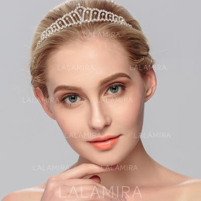 "Tiaras Wedding/Special Occasion Rhinestone/Alloy 1.18""(Approx.3cm) Elegant Headpieces (042158046)"