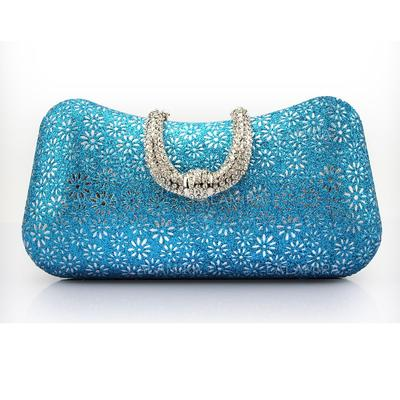 Clutches/Wristlets Wedding/Ceremony & Party/Casual & Shopping PU Magnetic Closure Classical Clutches & Evening Bags (012186476)