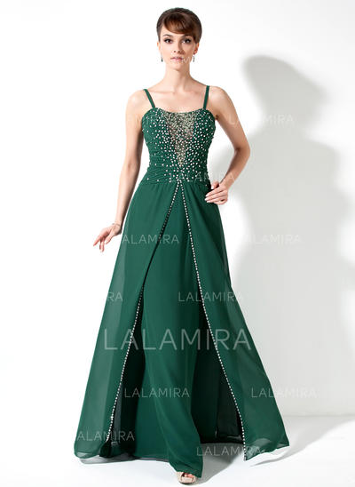 A-Line/Princess Sweetheart Chiffon Magnificent Mother of the Bride Dresses (008211432)