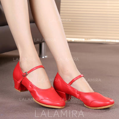 De mujer zapatos de personaje Zapatillas Cuero Zapatos de danza (053104790)