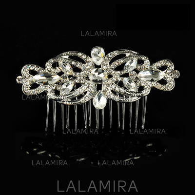 """Combs & Barrettes Wedding/Special Occasion Alloy 3.54""""(Approx.9cm) 1.97""""(Approx.5cm) Headpieces (042156332)"""