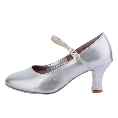 Women's Character Shoes Heels Pumps Leatherette Dance Shoes (053175937)
