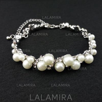 "Bracelets Alloy/Rhinestones/Imitation Pearls Ladies' Classic 9.84""(Approx.25cm) Wedding & Party Jewelry (011167888)"