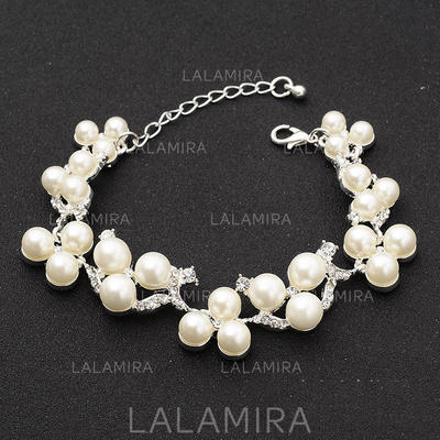 "Bracelets Alloy/Rhinestones Ladies' Fashional 0.71""(Approx.1.8cm) Wedding & Party Jewelry (011167403)"