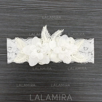 Garters Bridal Wedding Lace With Flower/Lace Garter (104196529)