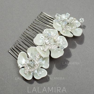 """Combs & Barrettes Wedding/Special Occasion/Party Rhinestone/Alloy 1.97""""(Approx.5cm) Glamourous Headpieces (042156046)"""