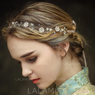 "Headbands Wedding/Special Occasion/Party/Art photography Crystal/Rhinestone 13.97""(Approx.35.5cm) 0.59""(Approx.1.5cm) Headpieces (042156614)"