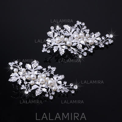 "Hairpins Wedding/Special Occasion Rhinestone/Alloy 3.94""(Approx.10cm) 2.17""(Approx.5.5cm) Headpieces (042157544)"