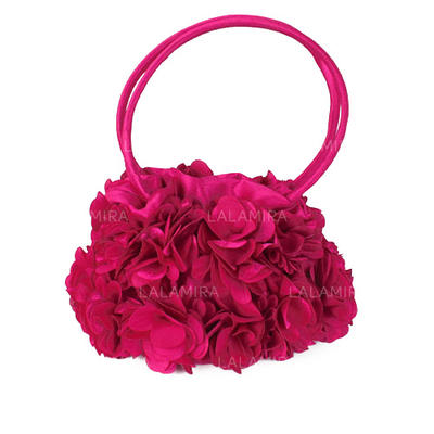 Wristlets/Bridal Purse Wedding/Ceremony & Party Silk Snap Closure Fashional Clutches & Evening Bags (012184354)