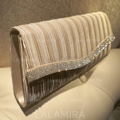 "Clutches/Satchel Ceremony & Party Silk Elegant 10.63""(Approx.27cm) Clutches & Evening Bags (012187271)"