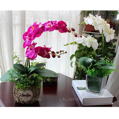 "Decorations Free-Form Wedding Satin 13.78""(Approx.35cm) Wedding Flowers (123189834)"