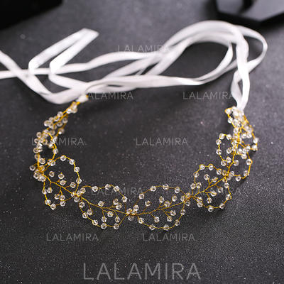 "Headbands Wedding/Special Occasion Crystal/Alloy 14.57 ""(Approx.37cm) 1.57""(Approx.4cm) Headpieces (042158677)"