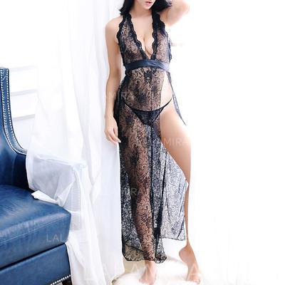 Renda Feminino lingerie Set (041138171)