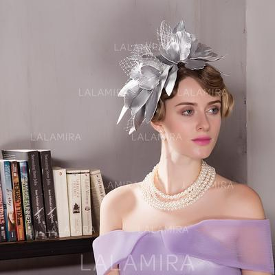 Polyester Fascinators Beautiful Ladies' Hats (196194691)