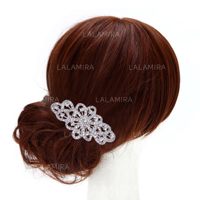 "Combs & Barrettes Wedding/Casual/Party/Art photography Rhinestone 3.74""(Approx.9.5cm) 2.36""(Approx.6cm) Headpieces (042159118)"