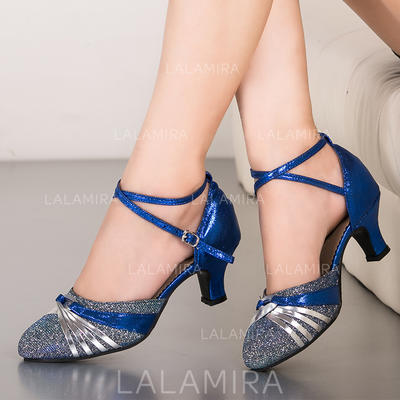 Women's Ballroom Sparkling Glitter Dance Shoes (053183440)