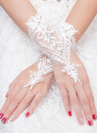 Tulle Ladies' Gloves Bridal Gloves Fingerless 20cm(Approx.7.87inch) Gloves (014192228)