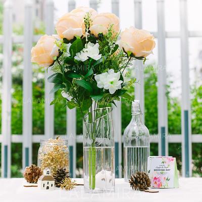 Traumhafte Seide Dekorationen/Hochzeits-Tabellen-Blumen (123066506 ...