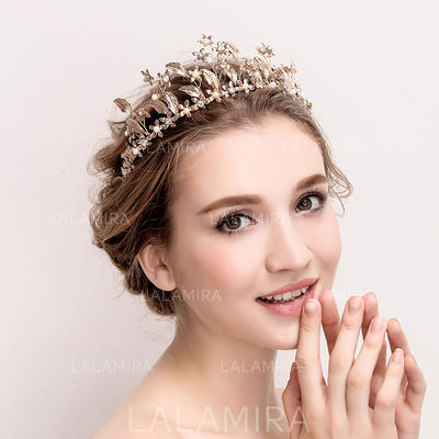 "Tiaras Wedding/Special Occasion Rhinestone/Alloy/Imitation Pearls 14.17""(Approx.36cm) 2.36""(Approx.6cm) Headpieces (042158356)"