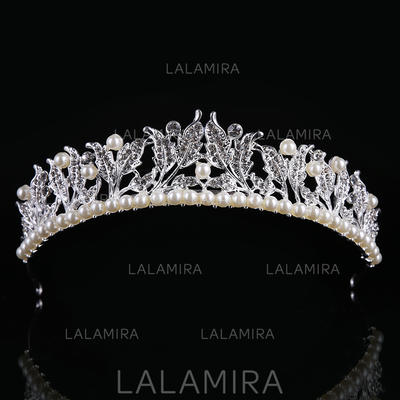 "Tiaras Wedding/Special Occasion Alloy/Imitation Pearls 1.57""(Approx.4cm) 8.66""(Approx.22cm) Headpieces (042158678)"